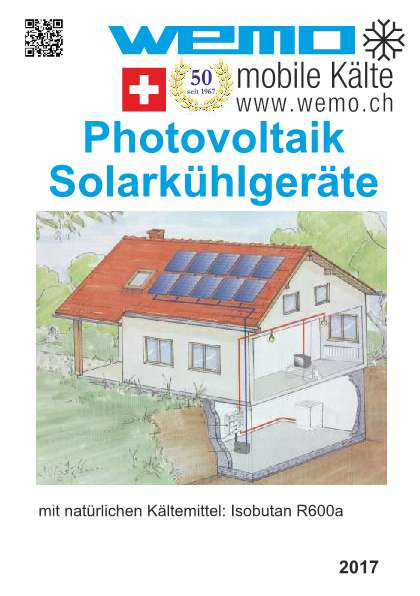 Photovoltaik Solarkühlgeräte (12/24 Volt)