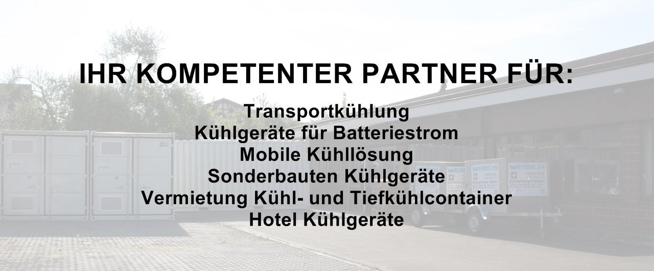 Ihr kompetenter Partner im Bereich der mobilen Kälte