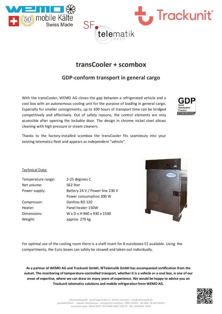 SFTelematik GmbH - Fyler transCooler 2